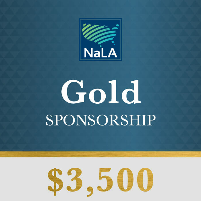Gold Sponsorship Tier NaLA 2017 Conference