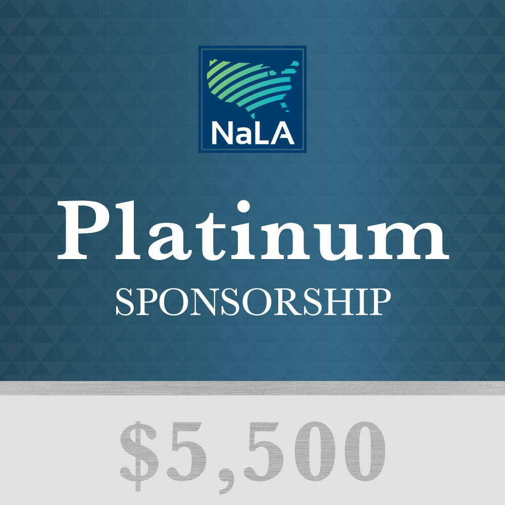 Platinum Sponsorship Tier NaLA 2017 Conference