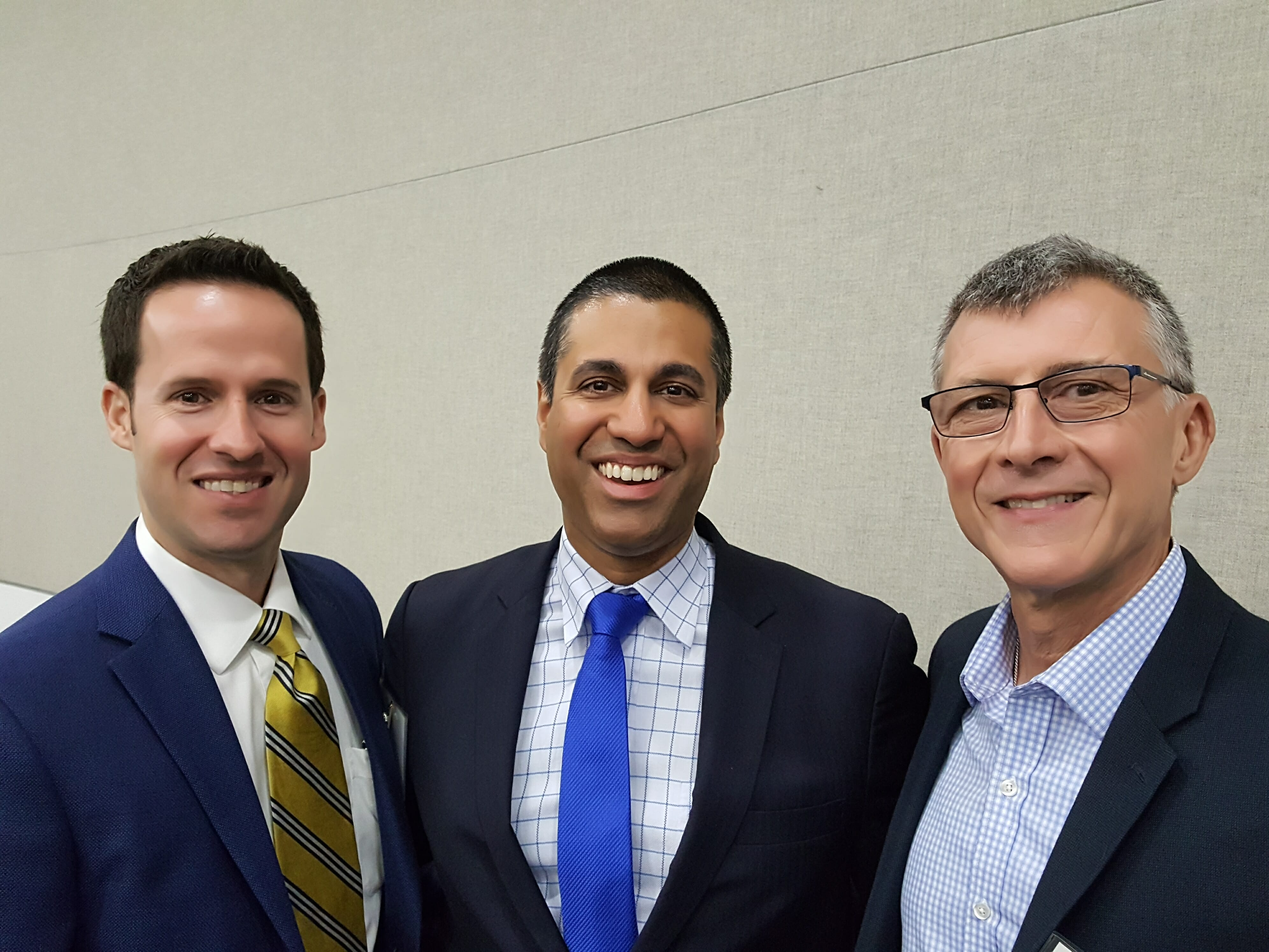 LOBBYING UPDATE: NaLA Members Steve Klein and Jose Cortes Meet FCC Chairman Ajit Pai